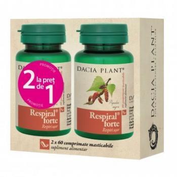 Respiral forte 1+1 gratis 60+60 cpr DACIA PLANT