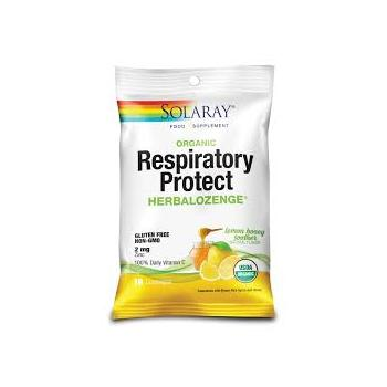 Respiratory protect lemon honey soother  18 cpr SOLARAY