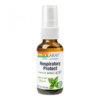 Respiratory protect throat spray kidz 30 ml SOLARAY