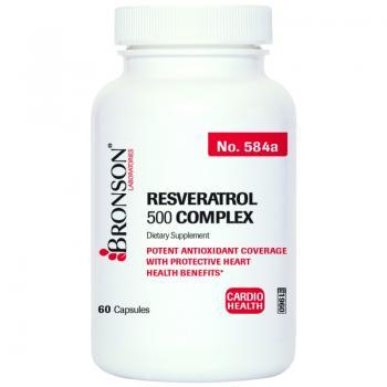 Resveratrol 500 Complex 60 cps BRONSON