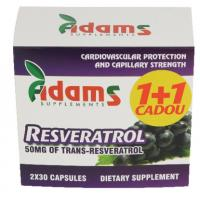 Resveratrol 50mg… ADAMS SUPPLEMENTS