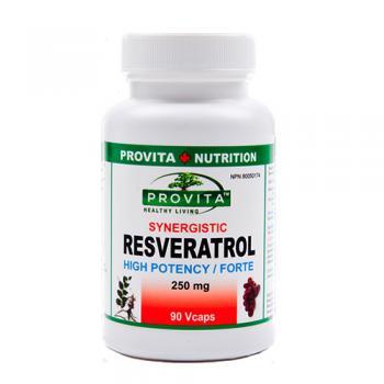 Resveratrol forte 90 cps PROVITA