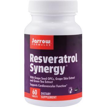 Resveratrol synergy 60 tbl JARROW FORMULAS