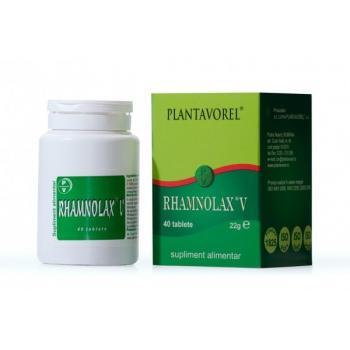 Rhamnolax-v 40 tbl PLANTAVOREL