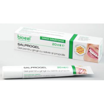 Salprogel pentru gingii cu salvie si propolis 20 ml BIOEEL