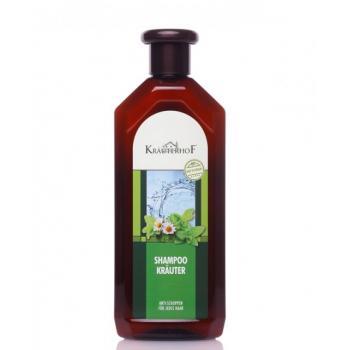 Sampon anti-matreata cu plante pentru toate tipurile de par 500 ml KRAUTERHOF