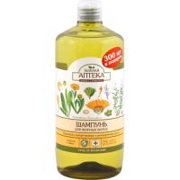 Sampon pentru par gras cu extract de galbenele  si ulei de rozmarin