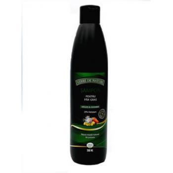 Sampon pentru par normal cu argan, germeni de grau si complex vegetal 300 gr MANICOS