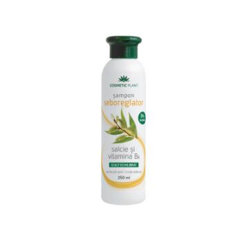 Sampon seboreglator cu salcie alba & complex de vitamine b 250 ml COSMETIC PLANT