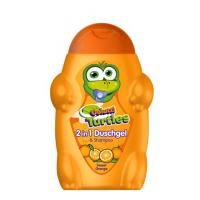 Sampon si gel de dus pentru copii cu portocale dulci
