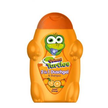 Sampon si gel de dus pentru copii cu portocale dulci 300 ml COLUTTI