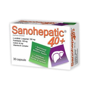 Sanohepatic 40+ 30 cps ZDROVIT