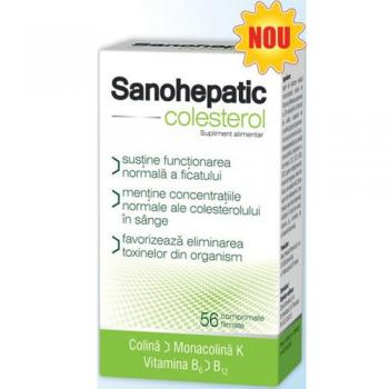 Sanohepatic colesterol  56 cpr ZDROVIT