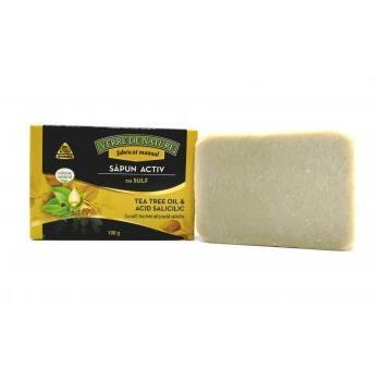 Sapun activ cu sulf, acid salicilic si tea tree oil 100 gr VERRE DE NATURE