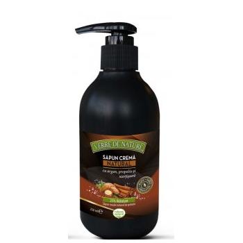 Sapun crema natural cu propolis si scortisoara 240 ml MANICOS
