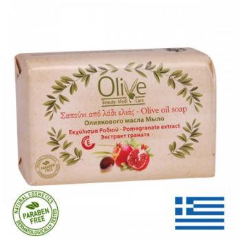 Sapun cu ulei de masline si extract de rodie 100 gr OLIVE