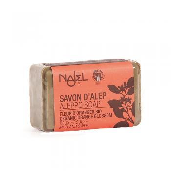 Sapun de alep cu flori de portocal 100 gr NAJEL