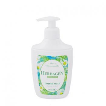 Sapun lichid cu extract de aloe si musetel 350 ml HERBAGEN