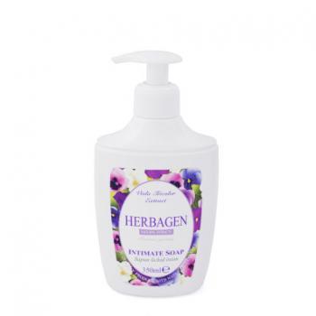 Sapun lichid pentru igiena intima cu extract de viola tricolor 350 ml HERBAGEN