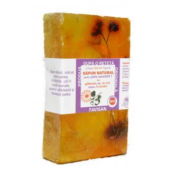 Sapun natural pentru piele sensibila bu013 80 gr FAVISAN