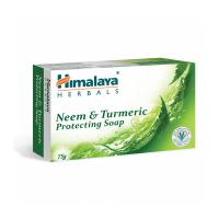 Sapun protector cu neem si sofran indian (protecting neem&turmeric soap)