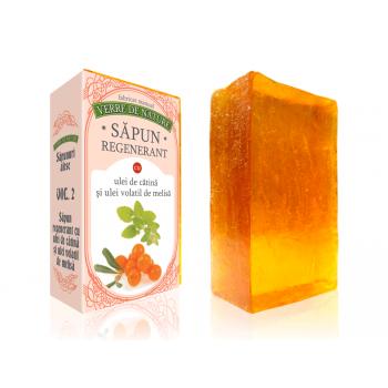 Sapun regenerant cu ulei de catina si ulei volatil de melisa vol.2 100 gr VERRE DE NATURE