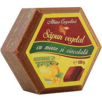 Sapun vegetal cu miere si ciocolata 100 gr ALBINA CARPATINA
