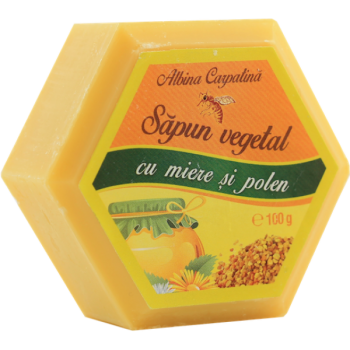 Sapun vegetal cu miere si polen 100 gr ALBINA CARPATINA