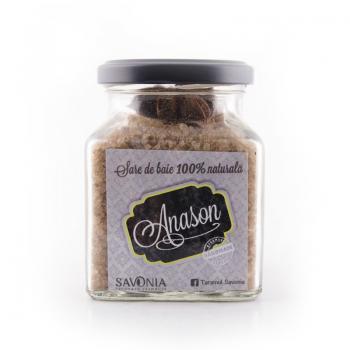 Sare de baie cu anason  250 gr SAVONIA