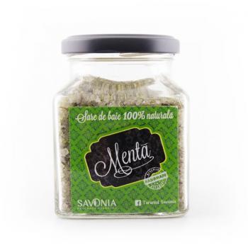 Sare de baie cu menta  250 gr SAVONIA