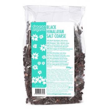 Sare neagra de himalaya grunjoasa 250 gr DRAGON SUPERFOODS