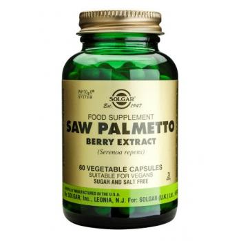 Saw palmetto berry extract 60 cps SOLGAR