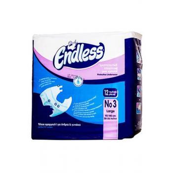 Scutece pentru adulti endless nr. 3 12 gr SANA EST