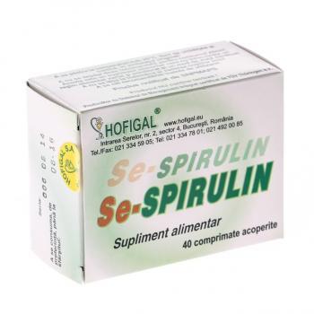Se-spirulin 40 cpr HOFIGAL