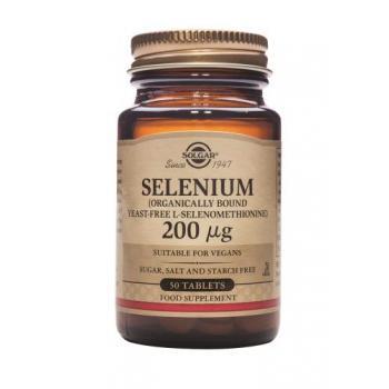 Selenium 200 mcg 50 tbl SOLGAR