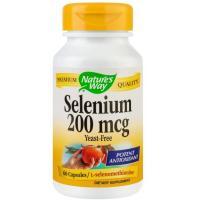 Selenium 200mg 60cps NATURES WAY