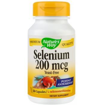 Selenium 200mg 60 cps NATURES WAY