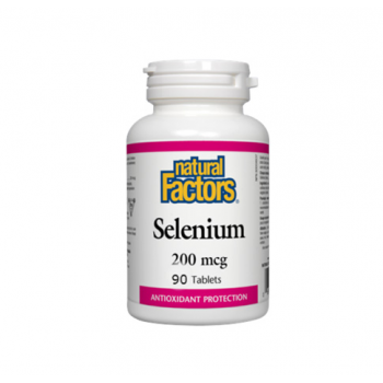 Selenium seleniu forte – 200 mcg 90 cpr NATURAL FACTORS