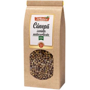 Seminte canepa nedecorticate 200 gr ADNATURA