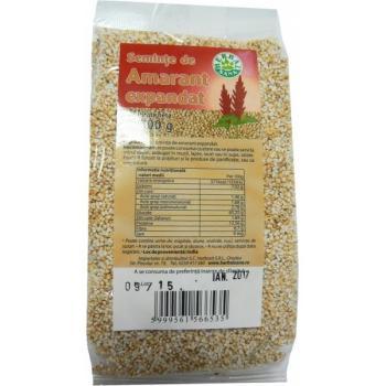 Seminte de amarant expandat 100 gr HERBALSANA