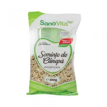 Seminte de canepa decorticate 100 gr SANO VITA