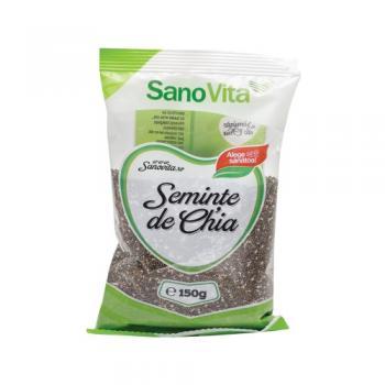 Seminte de chia 150 gr SANO VITA