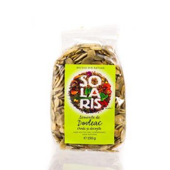 Seminte de dovleac crude si decojite 150 gr SOLARIS
