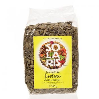 Seminte de dovleac crude si decojite 500 gr SOLARIS