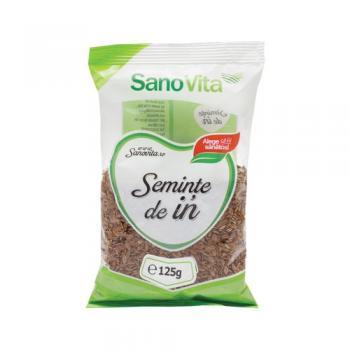 Seminte de in 125 gr SANO VITA