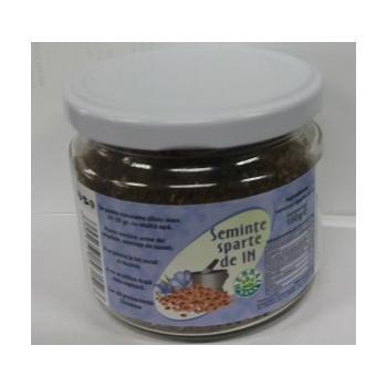 Seminte de in sparte la borcan 150 gr HERBALSANA