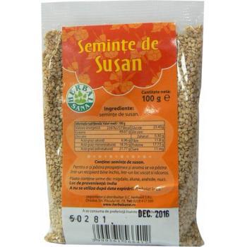 Seminte de susan 100 gr HERBALSANA