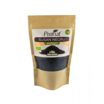 Seminte de susan negru ecologic 150 gr PRONAT