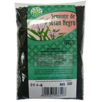 Seminte de susan negru 100 gr HERBALSANA
