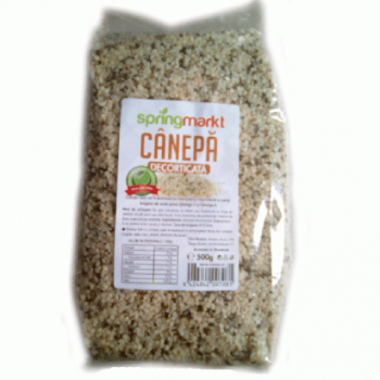 Seminte decorticate de canepa 500 gr SPRINGMARKT
